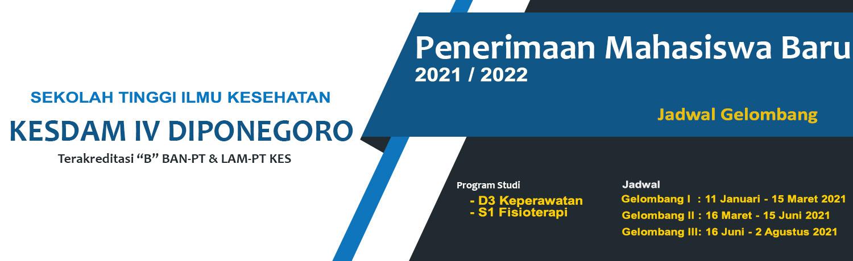 Pendaftaran Mahasiswa Baru Tahun 2020/2021